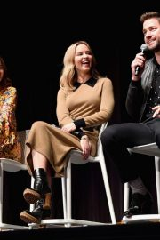 Emily Blunt at A Quiet Place Press Conference at Scad Savannah Film Festival 2018/10/27 6