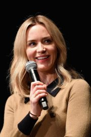 Emily Blunt at A Quiet Place Press Conference at Scad Savannah Film Festival 2018/10/27 7