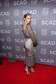 Emily Blunt at Scad Savannah Film Festival Opening Night 2018/10/27 1