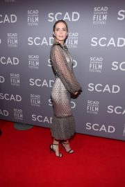 Emily Blunt at Scad Savannah Film Festival Opening Night 2018/10/27 2
