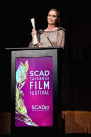 Emily Blunt at Scad Savannah Film Festival Opening Night 2018/10/27 4