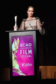 Emily Blunt at Scad Savannah Film Festival Opening Night 2018/10/27 5