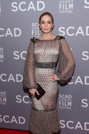 Emily Blunt at Scad Savannah Film Festival Opening Night 2018/10/27 7