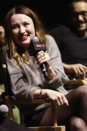 Emily Browning at American Gods Panel at New York Comic-con 2018/10/05 7