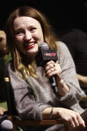 Emily Browning at American Gods Panel at New York Comic-con 2018/10/05 8