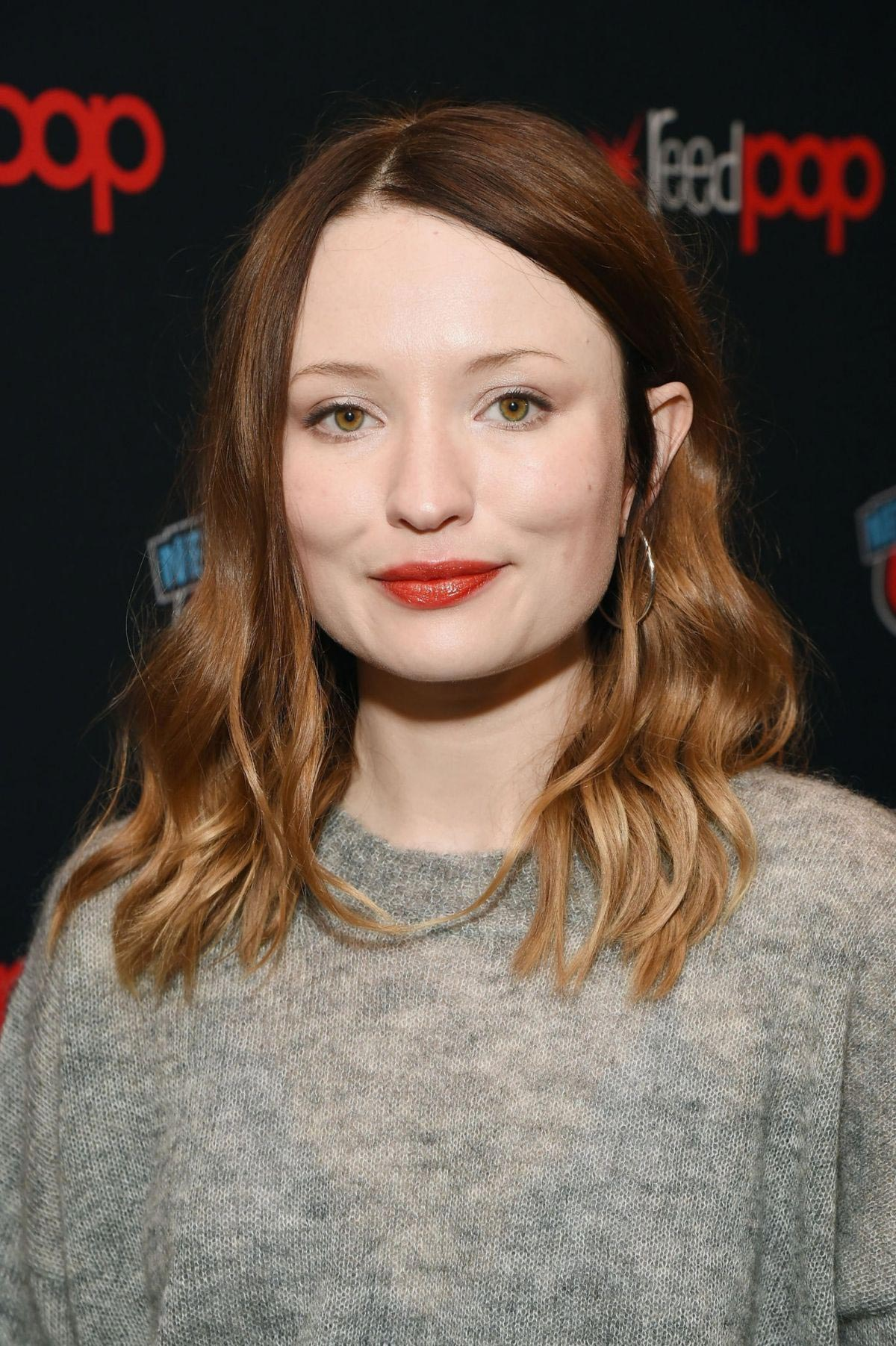 Emily Browning at New York Comic-con 2018/10/05 1