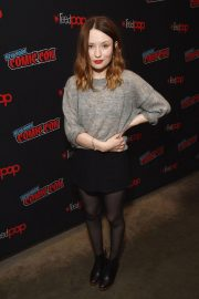 Emily Browning at New York Comic-con 2018/10/05 2
