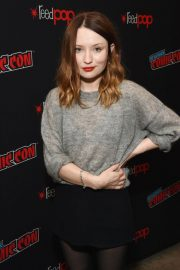 Emily Browning at New York Comic-con 2018/10/05 3