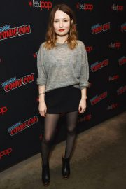 Emily Browning at New York Comic-con 2018/10/05 4