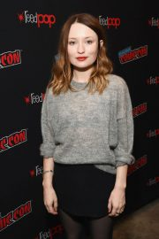 Emily Browning at New York Comic-con 2018/10/05 6