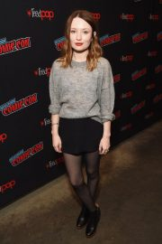 Emily Browning at New York Comic-con 2018/10/05 7