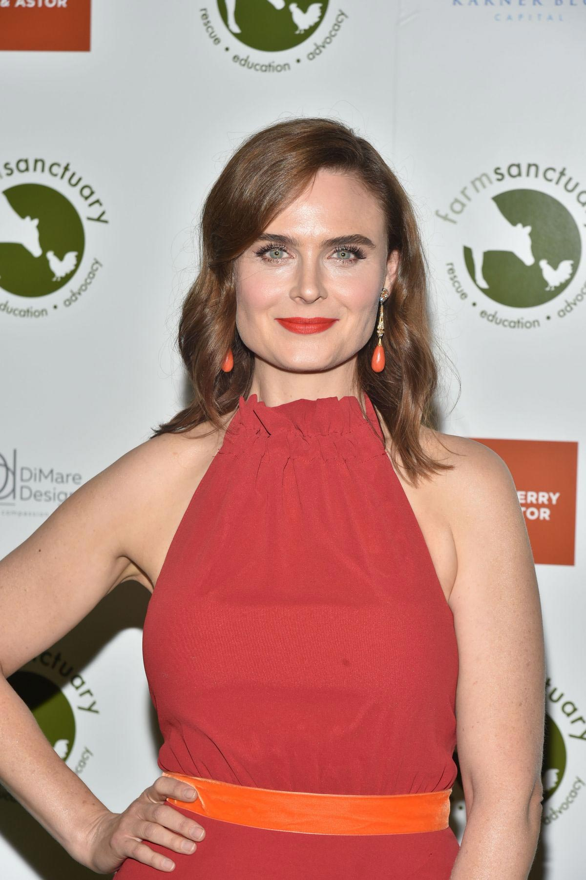Emily Deschanel at Farm Sanctuary on the Hudson Gala in New York 2018/10/04 1