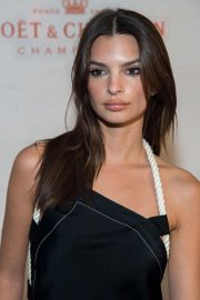 Emily Ratajkowski at Moet & Chandon and Virgil Abloh New Bottle Collaboration Launch in New York 2018/10/16 7