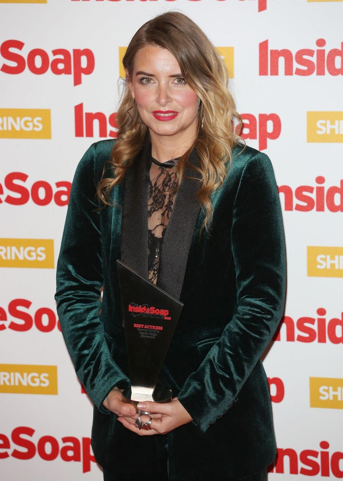 Emma Atkins at Inside Soap Awards 2018 in London 2018/10/22 1