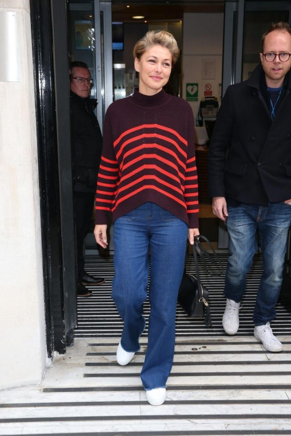 Emma Willis at BBC Studio in London 2018/10/27 1