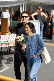 Emmy Rossum and Sam Esmail at Farmer's Market in Beverly Hills 2018/10/07 5