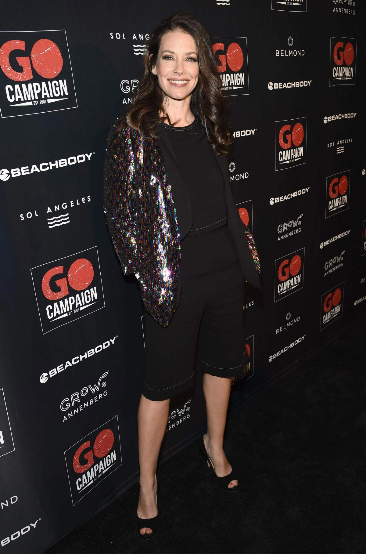 Evangeline Lilly at GO Campaign Gala in Los Angeles 2018/10/20 1