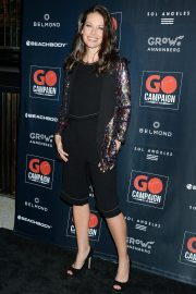 Evangeline Lilly at GO Campaign Gala in Los Angeles 2018/10/20 9