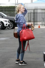 Evanna Lynch Arrives at Dance Practice in Los Angeles 2018/10/14 2