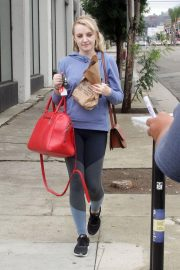 Evanna Lynch Arrives at Dance Practice in Los Angeles 2018/10/14 7