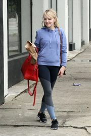 Evanna Lynch Arrives at Dance Practice in Los Angeles 2018/10/14 9