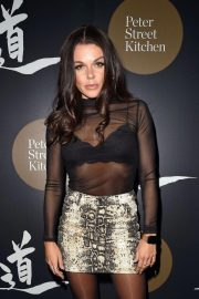 Faye Brookes at Peter Street Kitchen Restaurant Launch in Manchester 2018/10/11 2