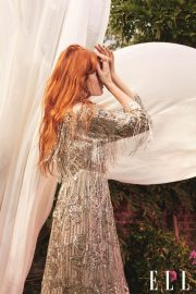 Florence Welch in Elle Magazine, UK November 2018 4