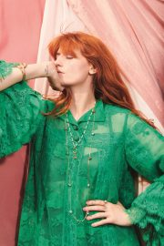 Florence Welch in Elle Magazine, UK November 2018 6