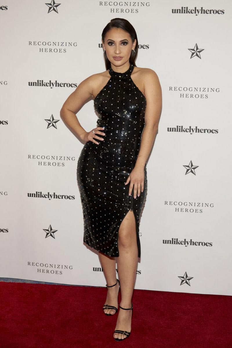 Francia Raisa at Recognizing Heroes Charity Benefit in Dallas 2018/10/27 1