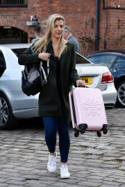 Gemma Atkinson Leaves Hits Radio in Manchester 2018/10/11 1