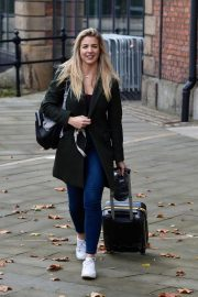 Gemma Atkinson Leaves Hits Radio in Manchester 2018/10/11 5