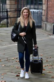 Gemma Atkinson Leaves Hits Radio in Manchester 2018/10/11 6