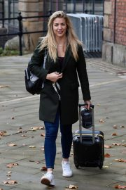 Gemma Atkinson Leaves Hits Radio in Manchester 2018/10/11 7