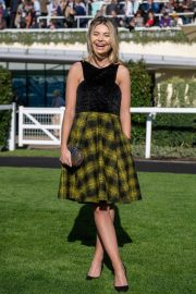 Georgia Toffolo at QIPCO British Champions Day at Ascot Racecourse in Berkshire 2018/10/20 2