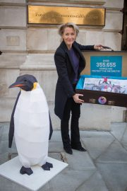 Gillian Anderson at Protect The Antarctic Petition in London 2018/10/09 4