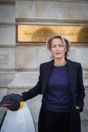 Gillian Anderson at Protect The Antarctic Petition in London 2018/10/09 6