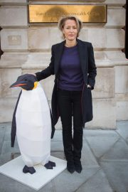Gillian Anderson at Protect The Antarctic Petition in London 2018/10/09 7