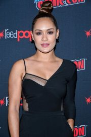 Grace Byers at The Gifted Panel at New York Comic-con 2018/10/07 1