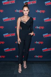 Grace Byers at The Gifted Panel at New York Comic-con 2018/10/07 2