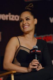 Grace Byers at The Gifted Panel at New York Comic-con 2018/10/07 6