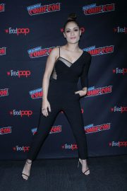 Grace Byers at The Gifted Panel at New York Comic-con 2018/10/07 9