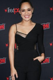 Grace Byers at The Gifted Panel at New York Comic-con 2018/10/07 10