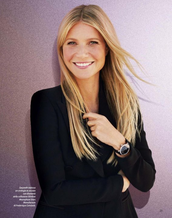 Gwyneth Paltrow in F Magazine, October 2018 Issue 1