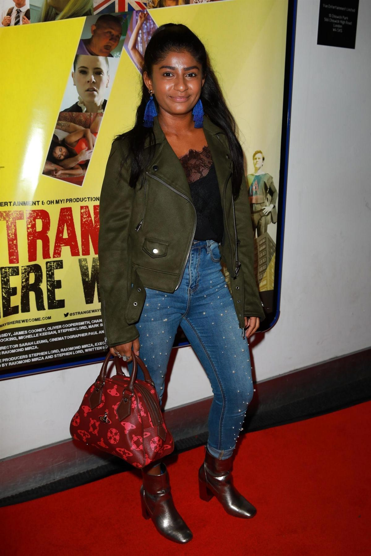 Haiesha Mistry at Strangeways Premiere in Manchester 2018/10/04 1