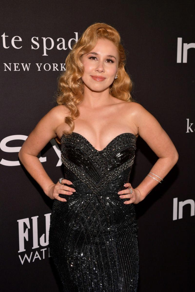 Haley Reinhart at Instyle Awards 2018 in Los Angeles 2018/10/22 1