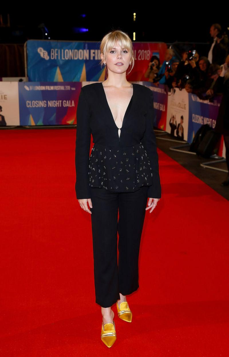 Hannah Arterton at Stan & Ollie Premiere and Closing Night of BFI London Film Festival 2018/10/21 1