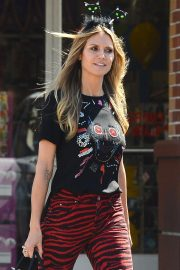 Heidi Klum Out Shopping in Los Angeles 2018/10/04 3
