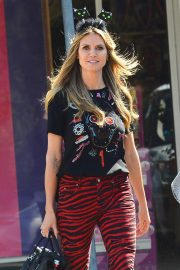 Heidi Klum Out Shopping in Los Angeles 2018/10/04 4