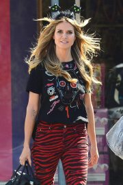 Heidi Klum Out Shopping in Los Angeles 2018/10/04 6