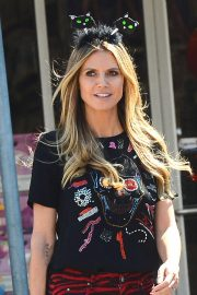 Heidi Klum Out Shopping in Los Angeles 2018/10/04 10